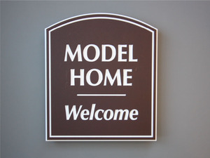 Model Home Signs: Quick Ship