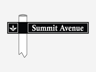 Double Sided Rectangular Shaped Street Sign