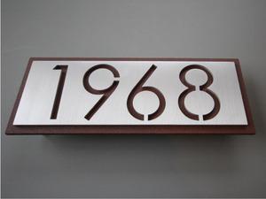 Metal Address Signs