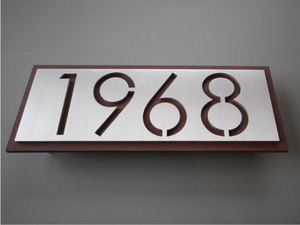 Metal Address Signs