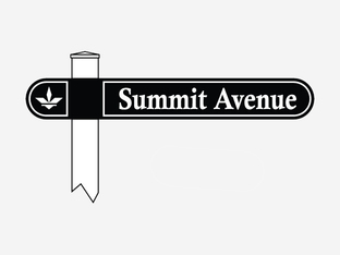 Double Sided Radius End Shaped Street Sign