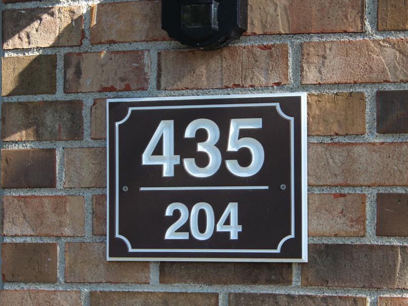 Address Unit Signs Elements Inc