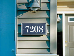 Address / Unit Signs