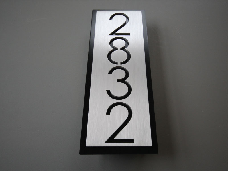 b020e3519b14d Metal Address Signs :: Elements, Inc