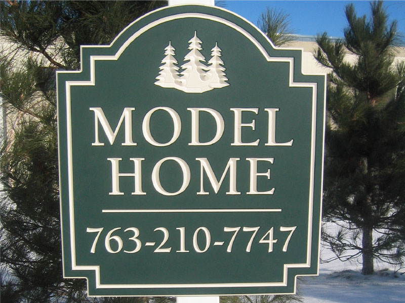 model home signs elements inc